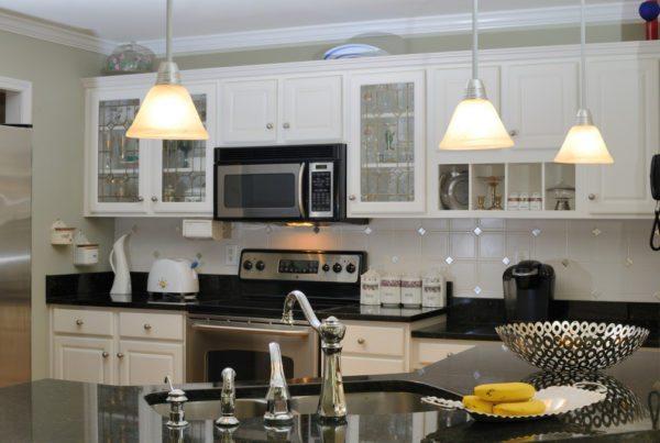 Aurora kitchen lighting project by JM Electric Inc.