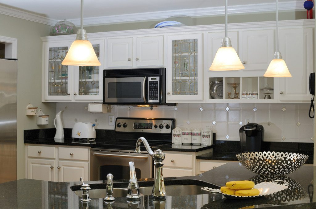 Aurora kitchen lighting project by JM Electric Inc.