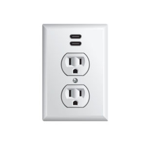 Electrician Install USB Outlets